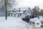 Schlossmühle im Schnee